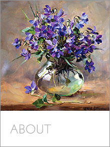 About Anne Cotterill Flower Paintings