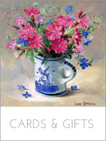 Flowers Cards and Gifts reproduced from the beautiful oil paintings of Anne Cotterill