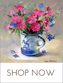 Shop online for Anne Cotterill Flower Art Prints and Cards